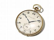 IWC Gold Pocket Watch, Switzerland, Around 1900