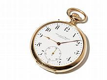 IWC Gold Pocket Watch, Switzerland, Around 1900