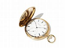 Jules Jürgensen Golden Pocket Watch, Switzerland, Around 1880