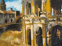 Giorgio Belloni (1861-1944), Painting, View of Venice, 20th C.