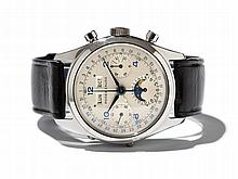 Roger Zaugg Academy Chronograph, Switzerland, Around 1955