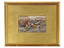 Johann Nepomuk Geller (1860-1954), 'Market Scene', c. 1900
