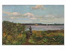 Margarete Haeberlin (1879-1954), Painting 'Sacrower See', 1897