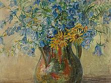 Ernst Huber (1895-1960), Flower Still Life, around 1930