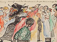 Oskar Laske, Illustration, 'Emmy and the Captain', 1946
