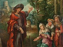 Lucas van Leyden Circle, Painting 'Noli Me Tangere', 16th C