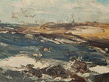 Eugene Dekkert (1865-1956), Fishing Boat off Norderney, 1909