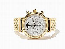 IWC DaVinci Perpetual Calendar Wristwatch, Switzerland, C. 2001