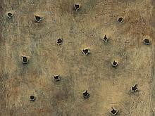 Dmyitryj Shubin (b. 1963), 'Copper Sheet: Destruction', 1992
