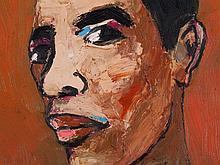Nguyen Cong Cu (b. 1969), Portrait of a Man, Vietnam, 2005