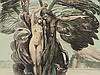 Ernst Fuchs (b. 1930), Lithograph 'Fall of Man', 1980s