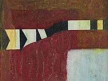 Otto Berenbrock (1907-1968), Mixed Media, 'Kontraste 1', 1967