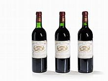 3 Bottles 1982 Château Margaux