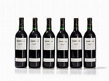 6 Bottles 1996 Costers del Siurana Clos de l'Obac, Priorato