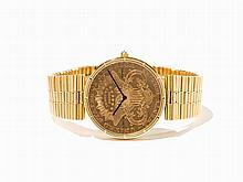 Corum 20 Dollar Coin Watch, Switzerland, C. 2000