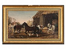 John F. Herring I (1795-1865), 'The Horse Mill', circa 1850
