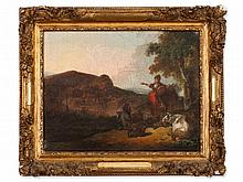 French School, 'Pastoral Landscape', 18th Century