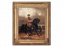 Alfred de Dreux (1810-1860), 'Riding Gentleman' , 1852