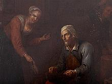 David Teniers the Younger, Follower, 'The Cobbler', 17th C