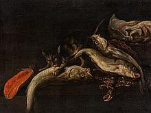 Isaac van Duynen (1628-1680), 'Fish Still Life', 17th Century