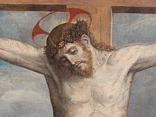 Italian School, 'Christ on the Cross', 18th Century