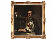 Étienne Jeaurat (1699-1789)' attr., Painting, Gourmet, 18th C