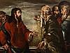 Bernardo Strozzi, Circle of, 'Christ with Moneylenders', 17th C