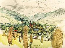 Josef Dobrowsky (1889-1964), Mountain Landscape, 1926
