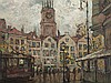 Gerhard Graf (1883-1960), Hamburg with St. Michaelis Church
