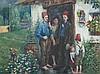 Hans Baluschek, Watercolor, Mussulmen in Berlin, 1908