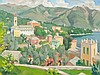 Carl Christoph Hartig (1888-1975), View on Lugano, 1934