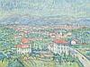 Theo von Brockhusen, View on the Villa Romana, 1913