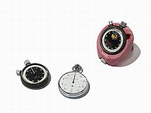 Omega And Nero Lemania Stopwatches