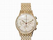 Movado Tiffany & Co. Gold Chronograph, Ref. 49036, Switzerland,