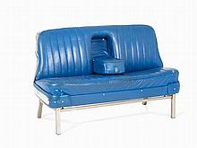 Blue Cadillac Sofa, Fleetwood/Fisher, USA, 1950s