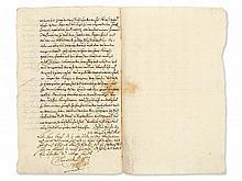 Manuscript of Maximilian I. Elector and Duke of Bavaria, 1628