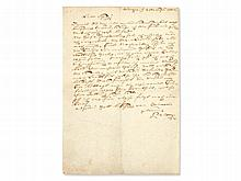 Private Letter from Johann Philipp Palm to his Wife, 1802