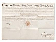 Charles VII: Printing Privilege for Franz Varrentrapp, 1742