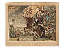 Abraham v. Diepenbeke, Equestrian Portrait Charles II, 1737