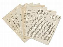 Erich Heckel, Extensive Lot of Letters and Cards, 1939-1954