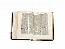 Antoninus Florentinus - Inkunabulum 'Chronicon', Basel, 1491