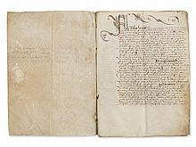 Letter of Feoffment for the Archbishop of Cambrai, 1517