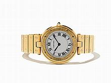 Cartier Ronde Gold Wristwatch, Switzerland, c. 1990