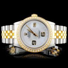 Rolex DateJust 1.00ct Diamond Wristwatch
