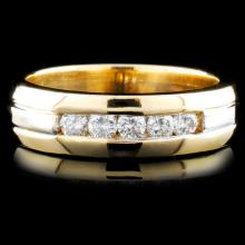 14K TT Gold 0.46ctw Diamond Ring