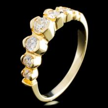 14K Gold 0.58ctw Diamond Ring