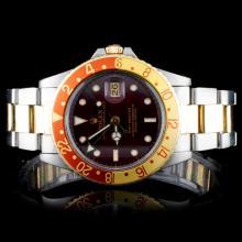 Rolex TT GMT-Master Men's Wristwatch