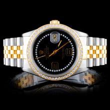 Rolex DateJust 1.00ctw Diamond Men's Watch