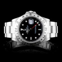Rolex SS Explorer II Men's Wristwatch