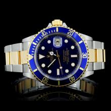 Rolex YG/SS Submariner Wristwatch